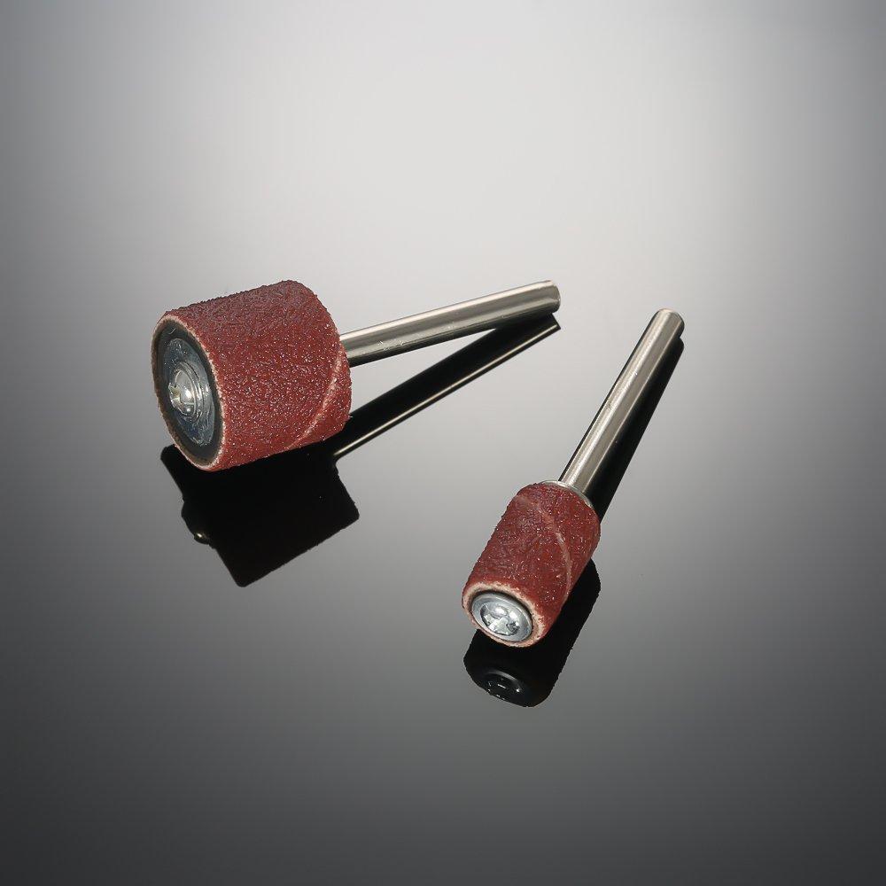 KKmoon 136 Pezzi Set Accessori per Smerigliatrice Set di Attrezzi Rotativi del Tronco Levigatura//Lucidatura//Rettifica per Dremel Grinder