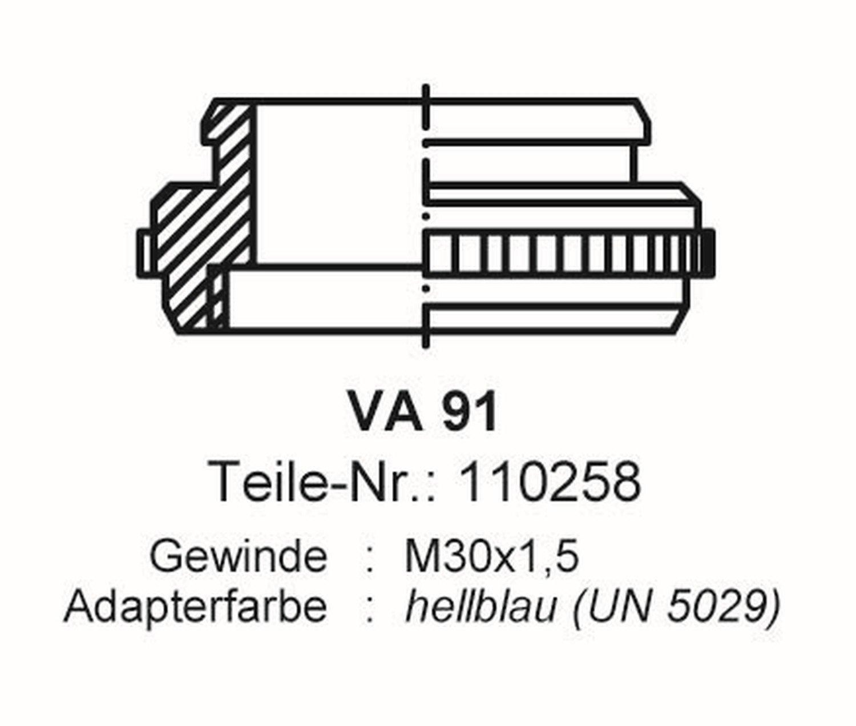 Stellantrieb 230V Alpha 5 Kamo KTS//Buderus VA91 f/ür Thermotechnik uvm.