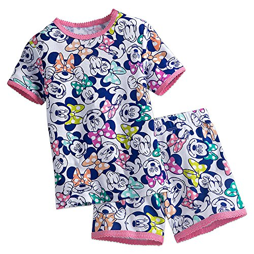 Disney Minnie Mouse PJ PALS Pajamas Short Set for Girls Size 3