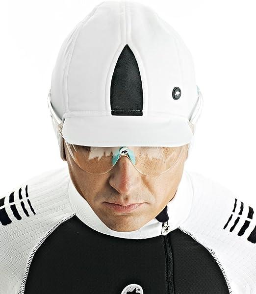 ASSOS Fugu Casco de Bicicleta para Invierno Gorro Blanco Panther ...