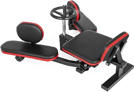 LLMLCF Equipo de fitness, estirador de piernas, 150 kg, máquina de ...