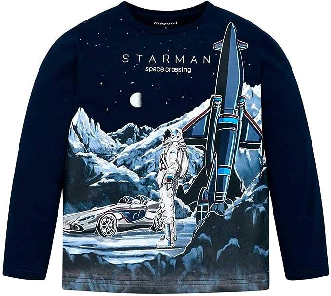 Mayoral Camiseta m/l Starman Niño 3-9 años: Amazon.es: Ropa y ...