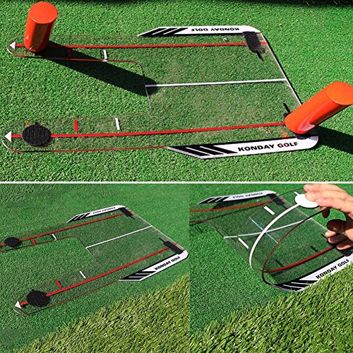 Gracefulvara Portable Golf Swing Trainer Speed Rods Trap Base by Gracefulvara (Image #2)