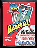 1991 Topps baseball Wax Pack Box Chipper Jones Rookie Card RC Set