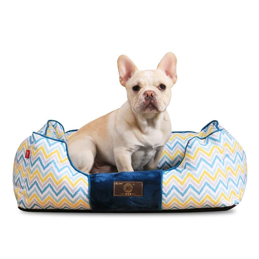 BERMEL Cama para Perros, Sofá para Perros,Cesta para Perro Invierno Mantener Caliente para Mascotas con un Peso de 2.5-50 KG