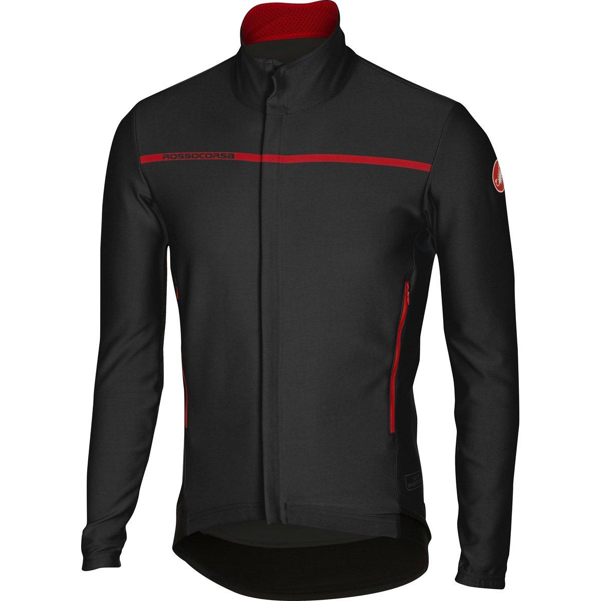 Amazon.com   Castelli 2016 17 Men s Perfetto Long Sleeve Cycling Jacket -  B16507   Sports   Outdoors 39def8874
