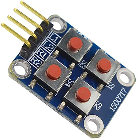 1PCS Matrix 4 Keyboard Board Module 4 Button Tactile Switch For  Arduino CA