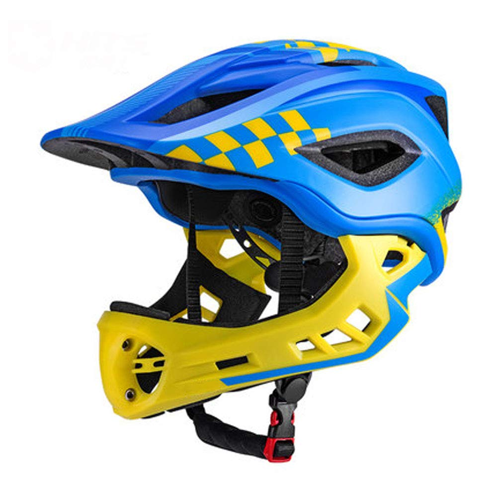 WYNZYTK Children's Cycling Helmet, Adjustable Lightweight Professional Safety Protection for Road Bikes (Color : B, Size : S)