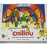Caillou Attic party 48 pcs Floor Puzzle 46 cm X 60 cm