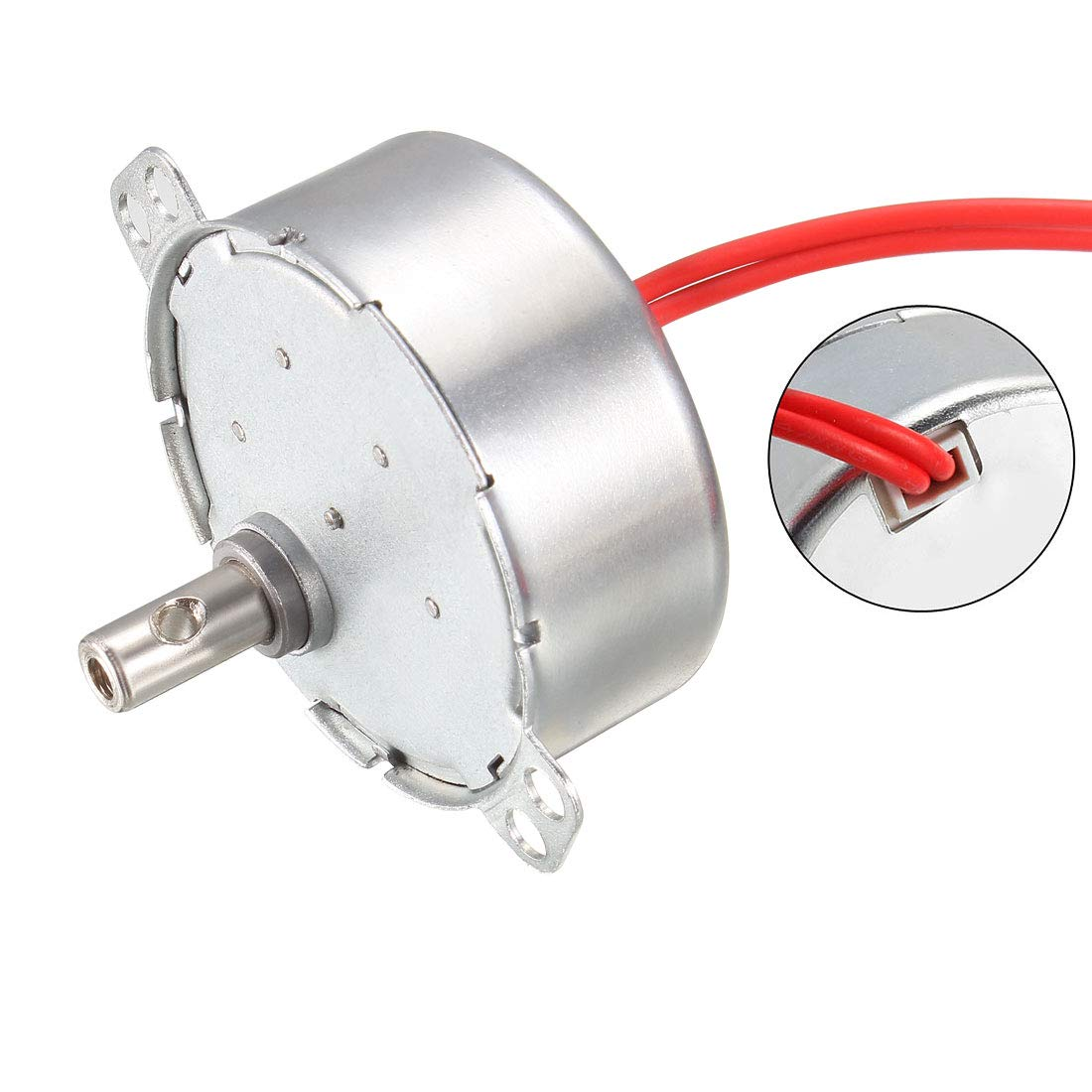 uxcell Electric Synchronous Synchron Motor Turntable Motor AC 12V 50-60Hz CCW//CW 4W 30-36RPM