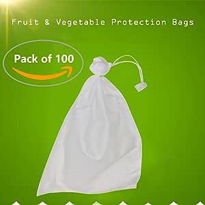 100 Unids Uvas de Jardín Bolsa de Protección de Frutas para Fruta ...