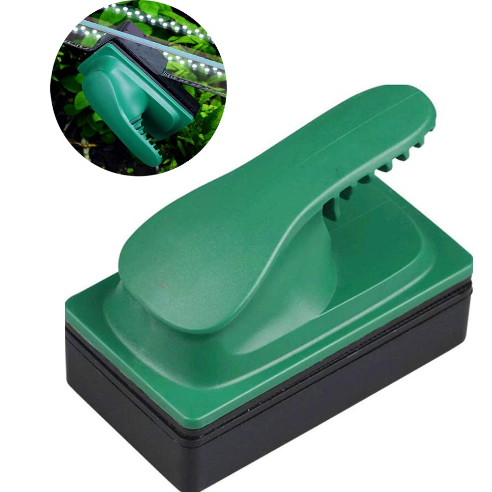Large Algae Magnet Scrapers Aquarium Glass Cleaner Small Magnetic Algae Remover for Medium and Large Fish Tanks, [Energy Efficiency Class A]