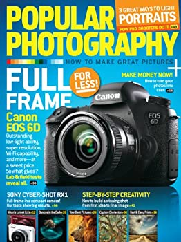 1-Yr Popular Photography Magazine Subscription