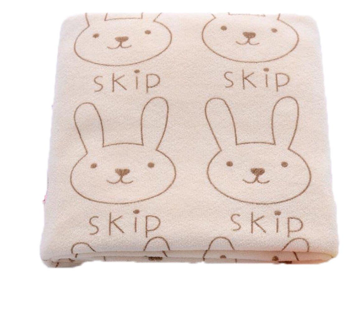 Toalla de secado absorbente de microfibra con estampado de conejo para niños, toalla de baño facial para la playa.: Amazon.es: Hogar
