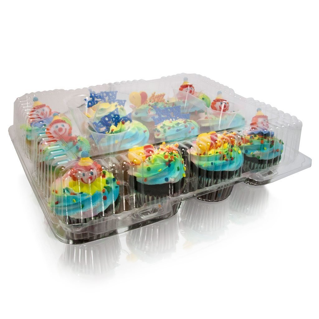 Cupcake Boxes, Cupcake Containers, 12 Pack Cupcake Containers, Set of 12,by the Bakers Pantry by The Bakers Pantry (Image #6)