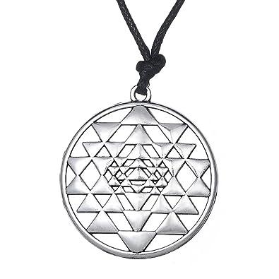 Amazon.com: Lemegeton Hinduism Sri Yantra Mantra OM Yoga ...