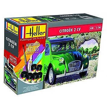 Outletdelocio. Heller 56765. Maqueta Coche Citroen 2CV. Kit ...