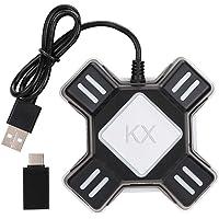 Staright Adaptador de mouse de teclado Adaptador de conversor de teclado de mouse portátil Substituição para Switch/X…