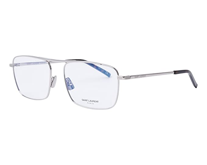 13b92f6c38 Saint Laurent SL 152 SILVER men Eyewear Frames  Amazon.co.uk  Clothing