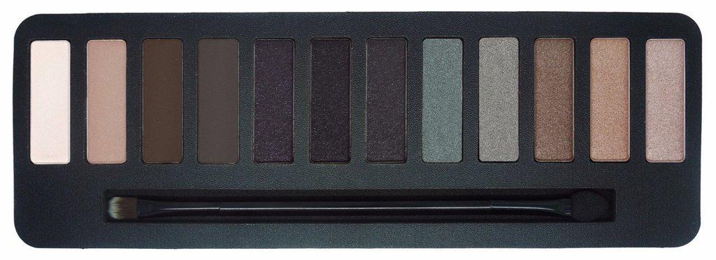 W7 Smokin - Paleta de sombras de ojos, 15,6 g, 12 colores