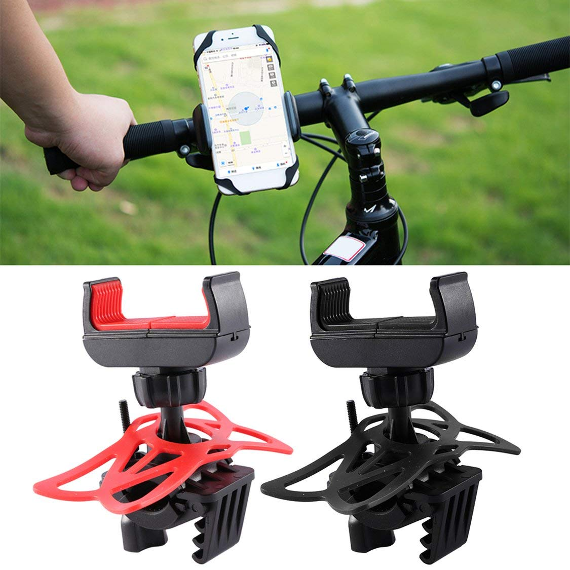 Multifuncional Bike Mount Universal Cellular Bicycle Rack Handlebar Titular de la Motocicleta Cradle Bicycle Riding Equipment vige