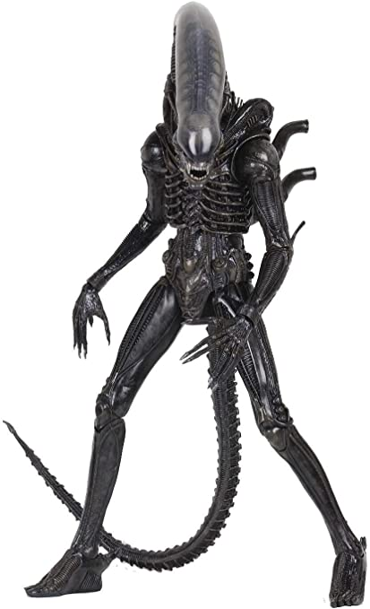 Alien Xenomorph Model with Stand