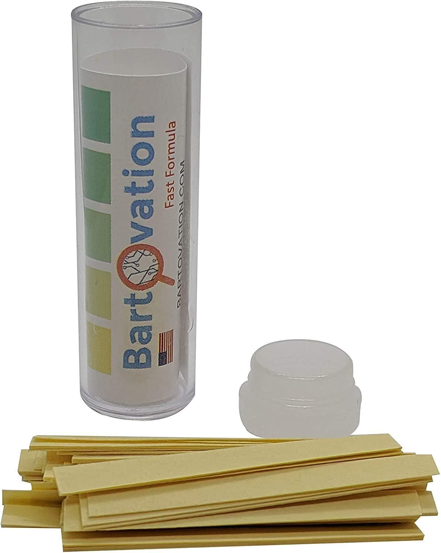 Five Pack Restaurant Quaternary Ammonium (QAC, Multi Quat) Sanitizer Test Paper, 0-400 ppm [5 Vials of 100 Paper Strips]