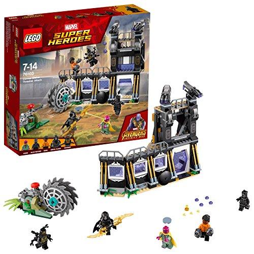 레고(LEGO) 슈퍼・히어로즈 칼파《바스》・그레이브의 트래셔(Thrasher) 배틀 76103