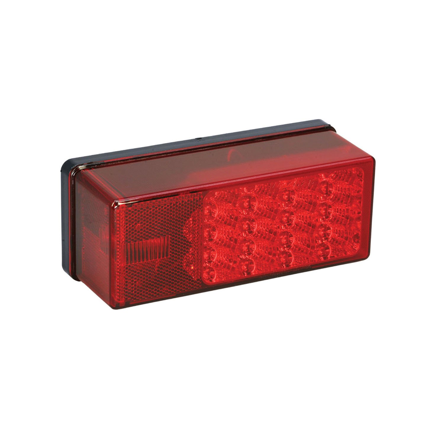 Wesbar 3 x 8 Waterproof LED 7-Function Right Curbside Tail Light
