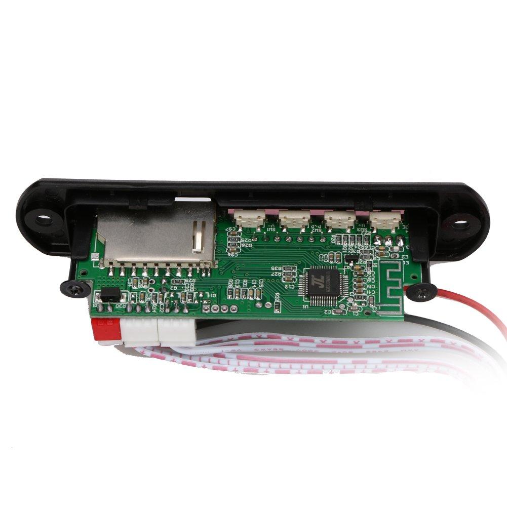 Ueb Car Audio Bluetooth Usb Sd Tf Mp3 Wma Decoder Board Player Circuit Diagram Besides 12v Wireless Module Speaker Clothing