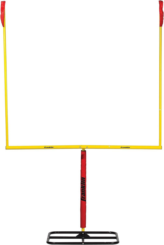 Amazon Com Franklin Sports Authentic Steel Football Goal Post 8 5 X 5 5 Post For Kids Football Goal Post Set Kicking Field Goals Youth Football Set Portable Football