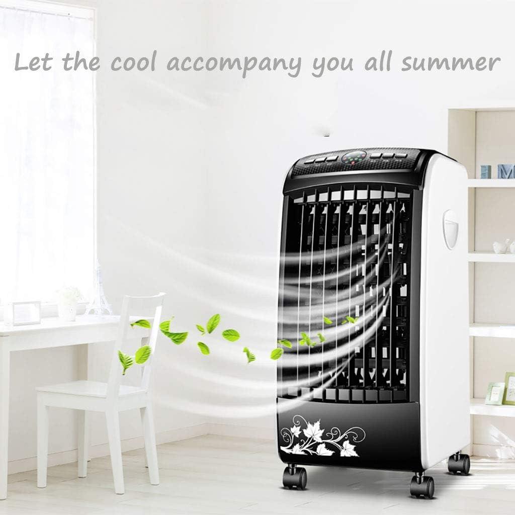 KMMK Home woonkamer slaapkamer ventilator verdampingsluchtkoeler, mobiele airconditioning slaapkamer kinderen kunnen tijdelijk worden vastgelegd. E A 5cxWBfed