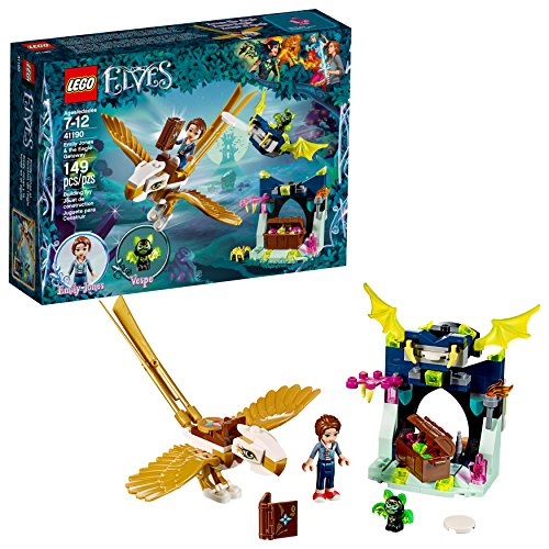 - LEGO 6212137 Elves Emily Jones and The Eagle Getaway 41190 Building Kit