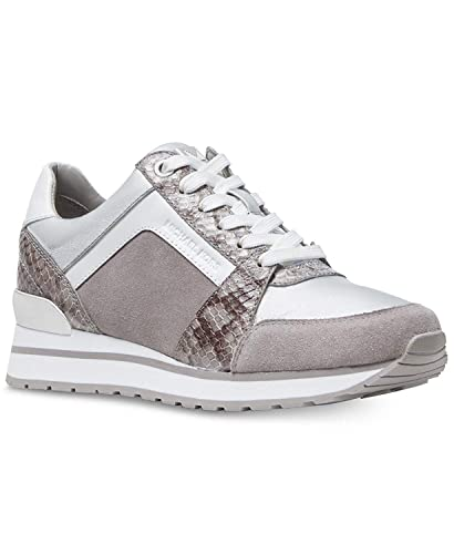7a7137c2d5a62 Michael Kors MK Women's Billie Trainer Suede Sneakers Shoes