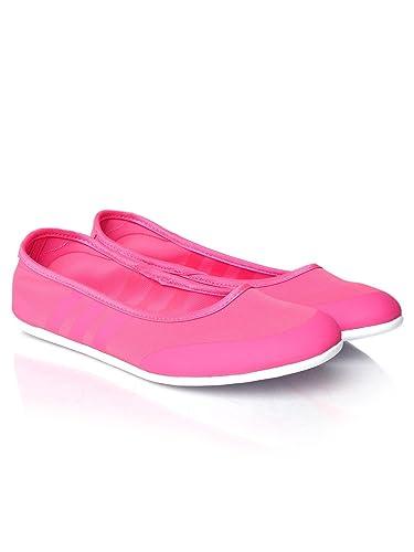 a90e43c0f6b2 ... closeout adidas neo women fluorescent pink sunlina flat shoes 8 6e5a9  59ff8