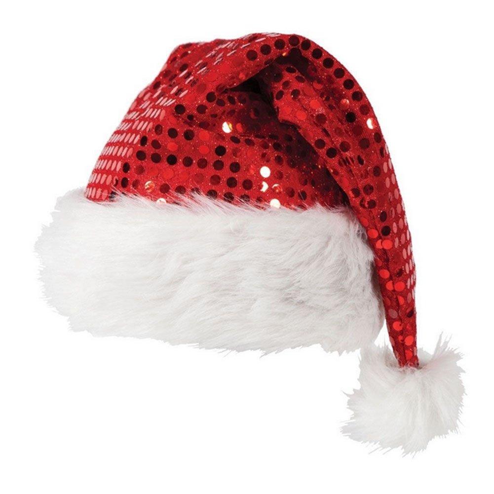 chic chic bonnet nol christmas chapeau paillette pre nol pompon dguisement
