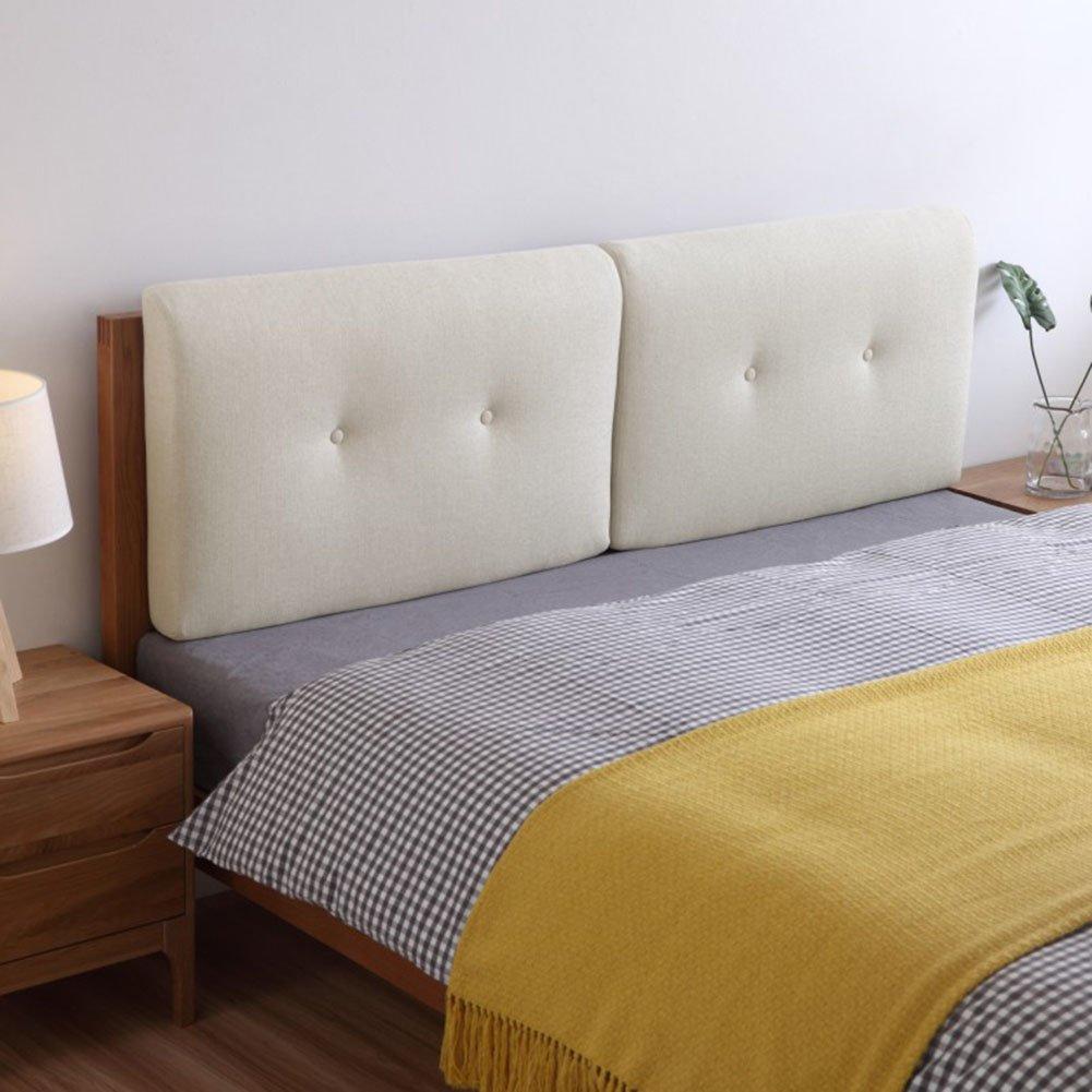 QIANGDA クッション ベッドの背もたれヘッドボード リネン スポンジライニング バンパー ウォッシャブル ダブルベッド、 10色、 4サイズあり、 1項目 (色 : 8#, サイズ さいず : 60 x 50 x 10cm) B07D3NRFDB 60 x 50 x 10cm|8# 8# 60 x 50 x 10cm