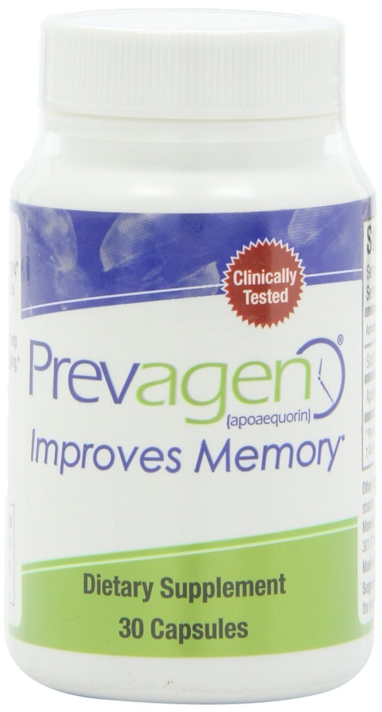 Prevagen 10 mg Caps, 30-Count Bottle & Free Brain Health Guide