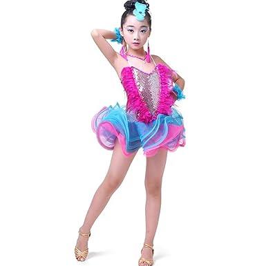 Huicai Disfraz de bailarina de Jazz para niñas Kids Modern ...