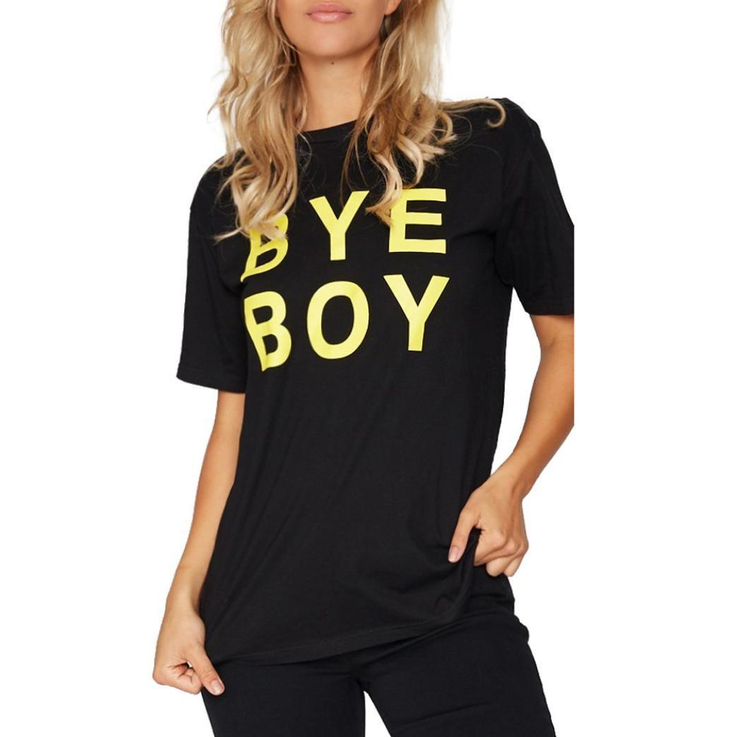 Pocciol SHIRT レディース Large Bye-boy B07C4MDHH6