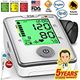 Dr Trust (Usa) Automatic Digital Talking Blood Pressure Monitor (Includes Adapter, Carry Bag, Batteries, Thermometer )