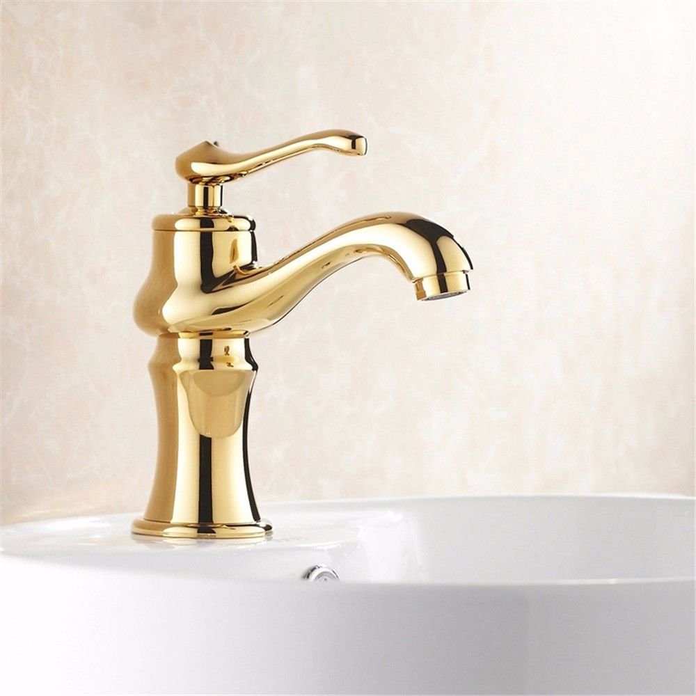 LHbox Basin Mixer Tap Bathroom Sink Faucet Continental hot and cold water basin Faucet