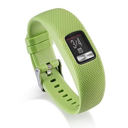 Correa de repuesto elegante para reloj Garmin Vivofit 4, correa de silicona Y56 colorida de repuesto ...