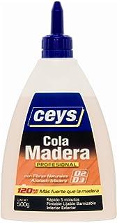 Ceys - Cola madera profesional (biber�n 500g)
