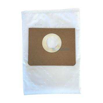 10 Bolsas de fieltro para Kärcher Serie NT 35/1 (AP, Adv, tact, TE,..) bolsas de aspiradora alternativo para 6.907 - 479.0/69074790 de MicroSafe®
