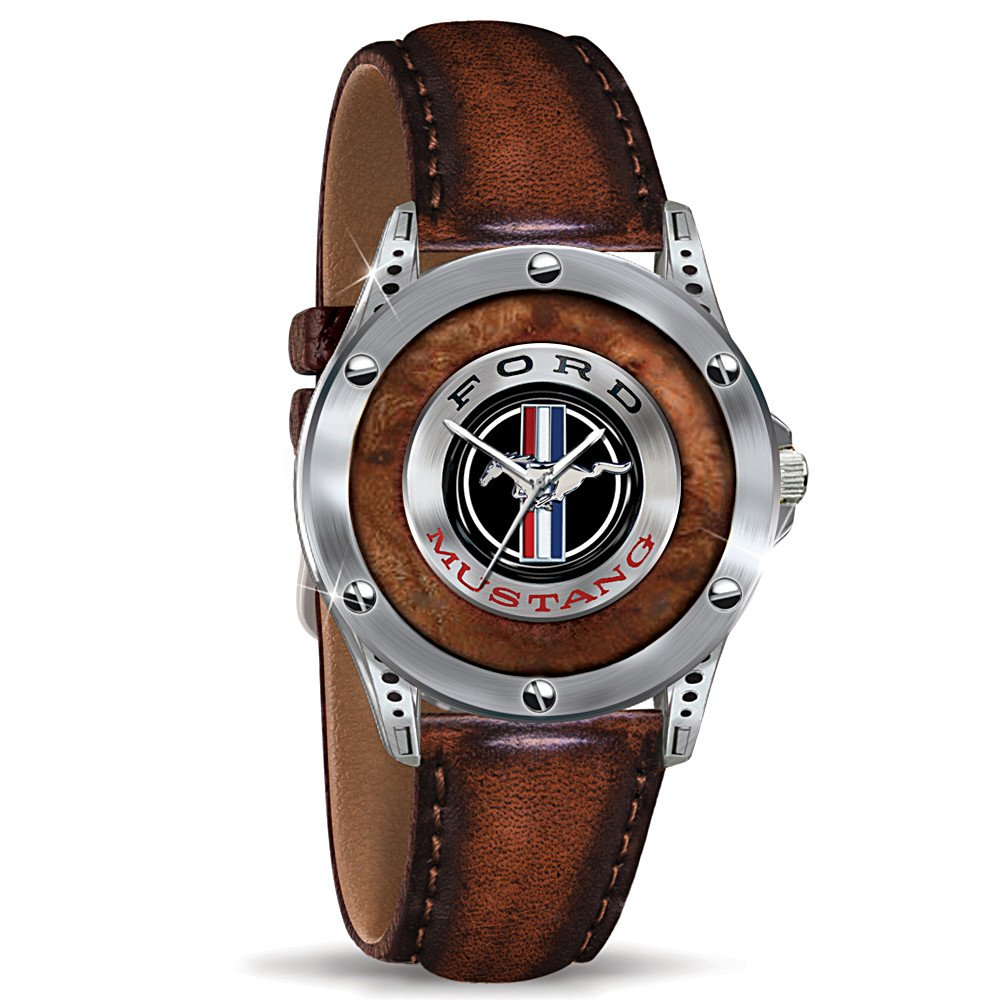 Amazon com mens watch mustang an american classic commemorative watch by the bradford exchange watches