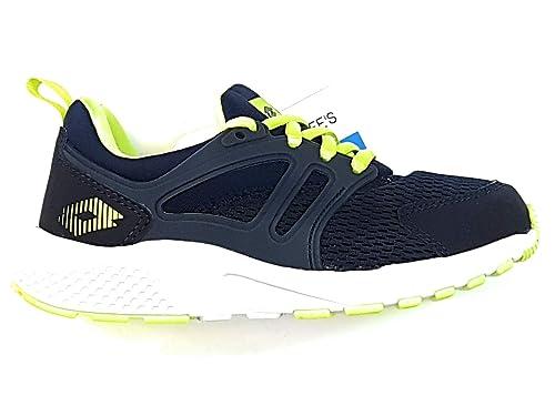Lotto - Zapatillas de Gimnasia de Lona para niño Dress Blue: Amazon.es: Zapatos y complementos