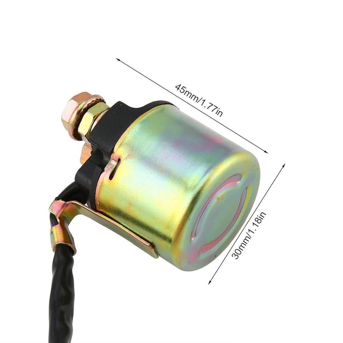 Dunhil Starter Solenoid Relay for Honda TRX90 TRX400 TRX450 TRX450ES TRX350 TRX500 TRX650 TRX680 Fourtrax Foreman Rancher