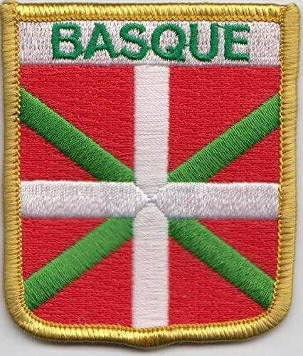 España Vasco bandera bordado parche (cy022): Amazon.es: Jardín