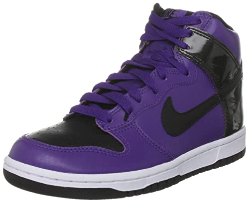 cheaper 5bb93 36312 ... order nike dunk high viola nero scarpe sneakers alte casual moda  fashion 60a65 6d560